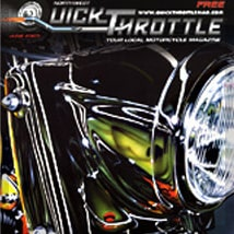 Quick Throttle featuring A.D. Cook motorcycle art 2005 (preview)