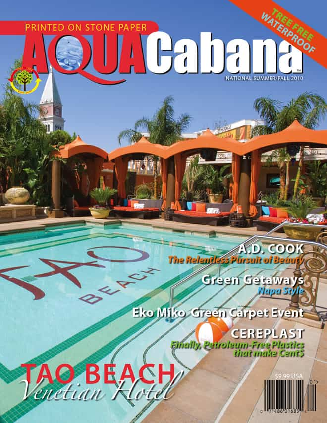 AquaCabana Magazine Cover June 2012