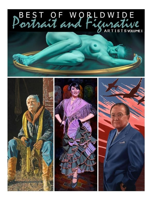 Best of Worldwide Portrait and Figurative Artists, volume 1, featuring A.D. Cook