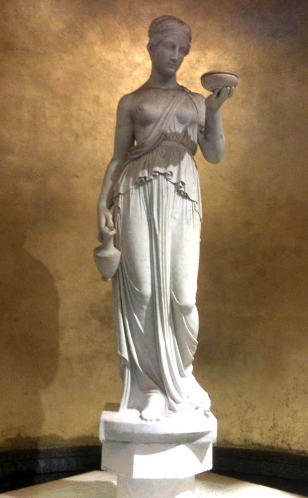 Classic nude at Caesars Palace, Las Vegas, NV