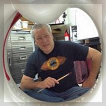 Artist A.D. Cook, Las Vegas, NV