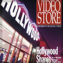 Video Store Magazine featuring A.D. Cook Hollywood murals 1993 (preview)