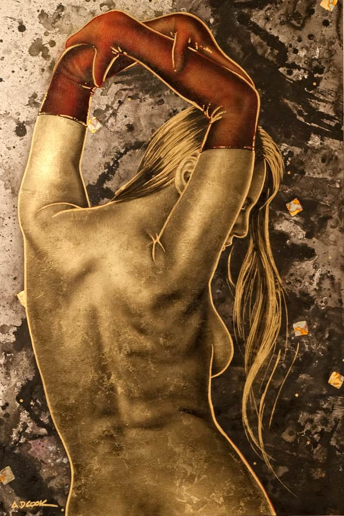 Lux - Nev 1 - figurative art by A.D. Cook