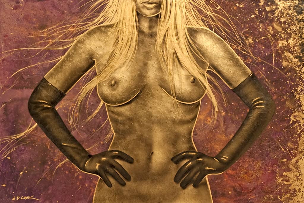 LUX - NEV 2 art nude by A.D. Cook, 2012