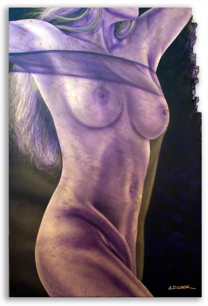LUX - TIFFANY art nude by A.D. Cook 2012