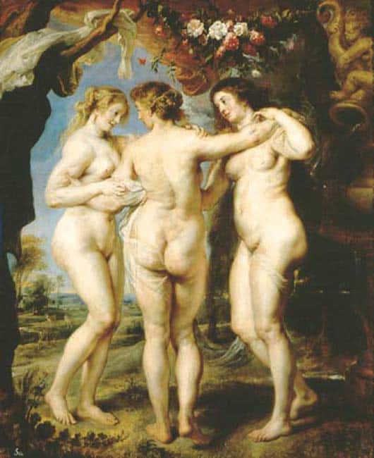 The Three Graces ~ Peter Paul Rubens 1639