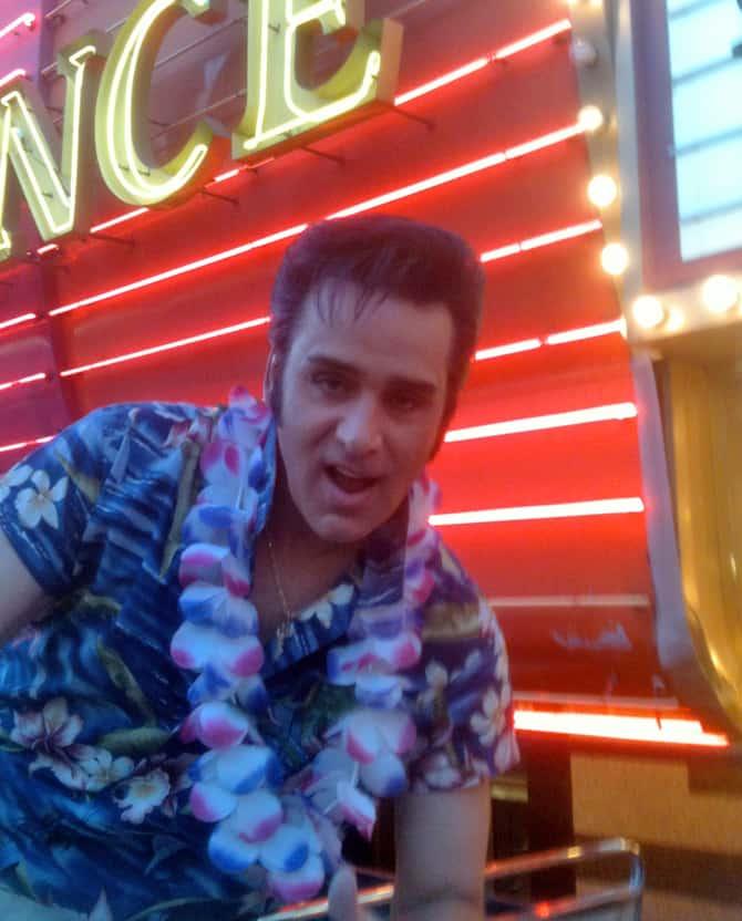 Steve Connolly as Elvis aka Spirit of the King, Las Vegas, NV