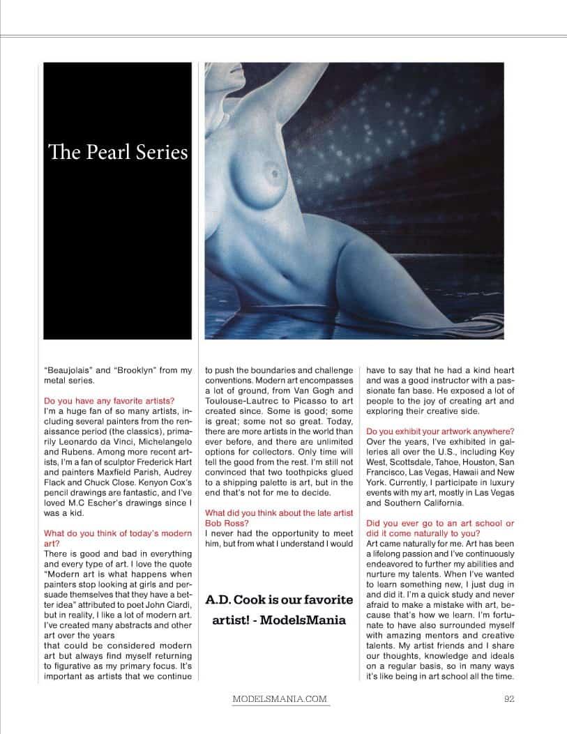 ModelsMania Magazine, September 2012 - Page 92