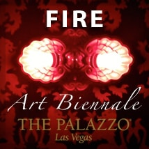 FIRE Art Biennnale at The Palazzo, Las Vegas 02/16/13