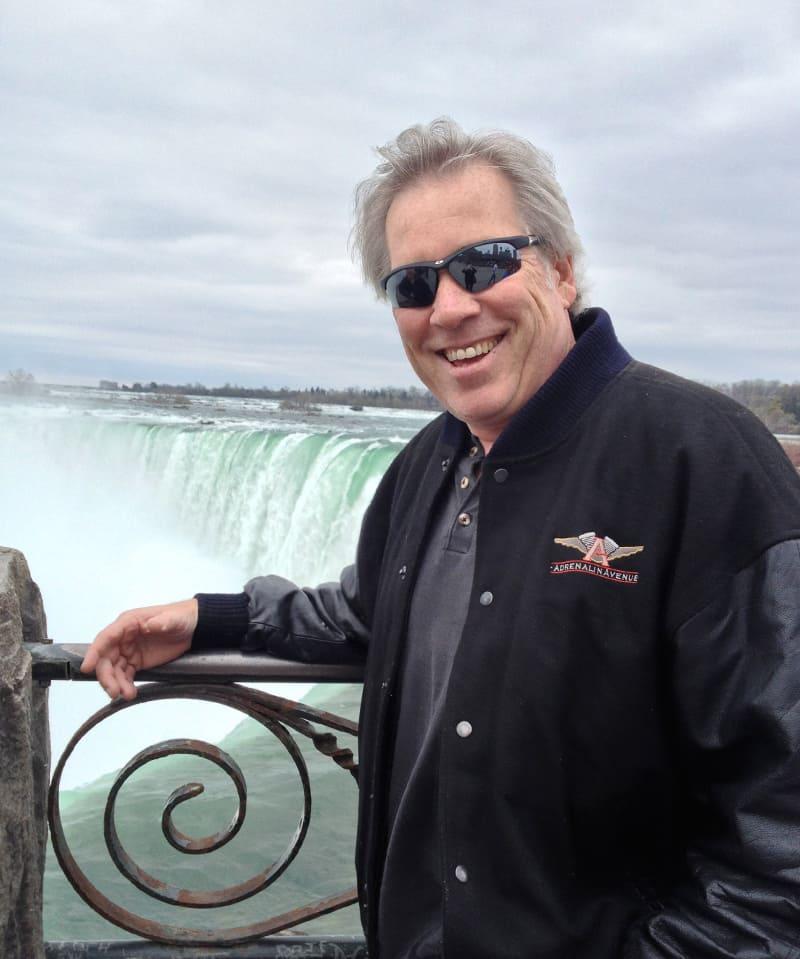 A.D. Cook at Niagara Falls, Canada 2013
