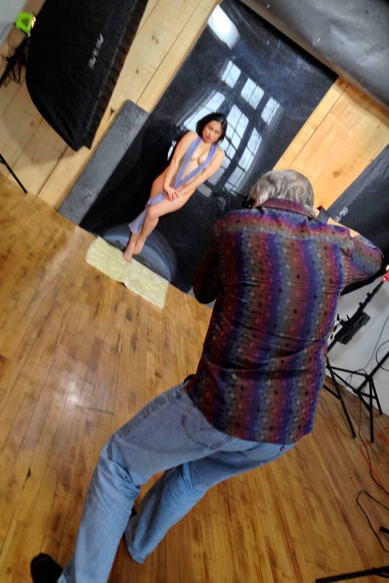 Arianna photo shoot, Canada 2013.