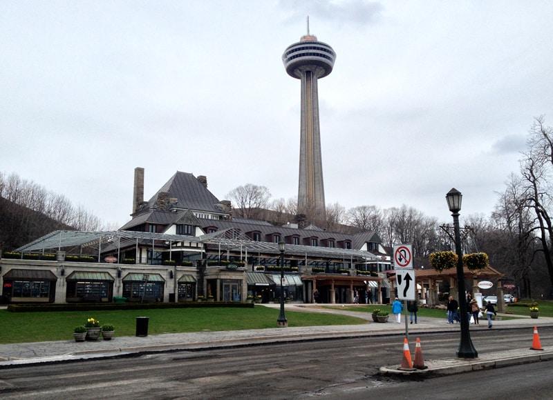 Tower at Niagara Falls, Canada 2013.