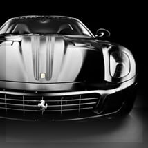 Ferrari in black, Las Vegas, NV