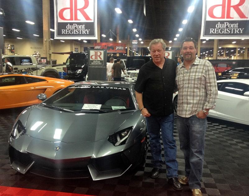 Lamborghini LP700 Aventador, A.D. Cook, Kevin Mahoney at Barrett-Jackson, Las Vegas, NV