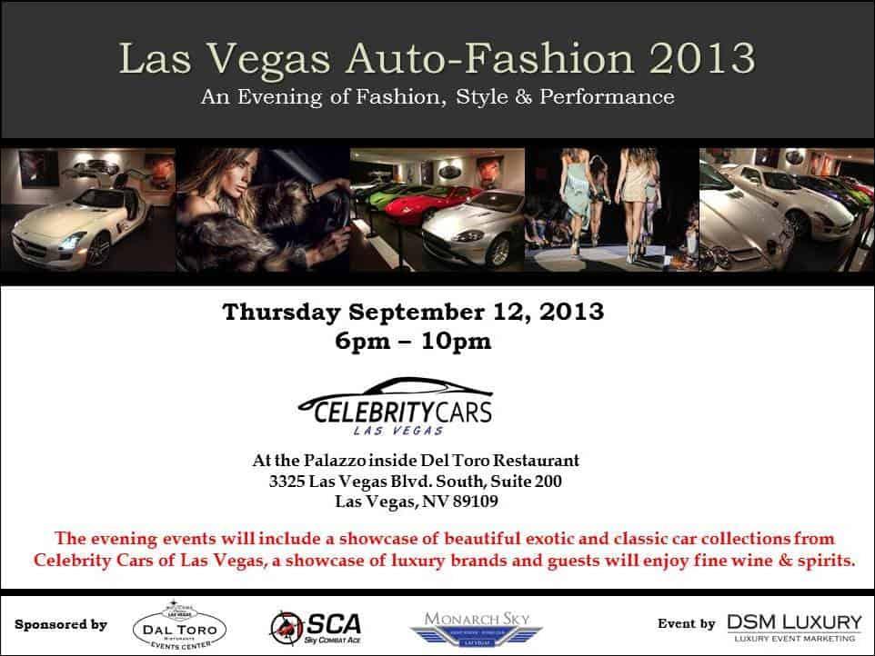 Las Vegas Auto Fashion 2013