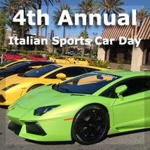 4th Annual Italian Sports Car Day at Siena Italian Trattoria, Las Vegas, NV