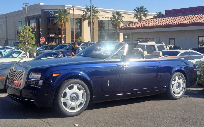 Rolls Royce at Italian Sports Car Day 2013