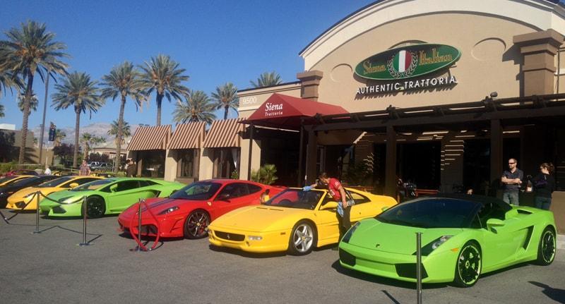 Lamborghinis at Italian Sports Car Day 2013, Las Vegas, NV