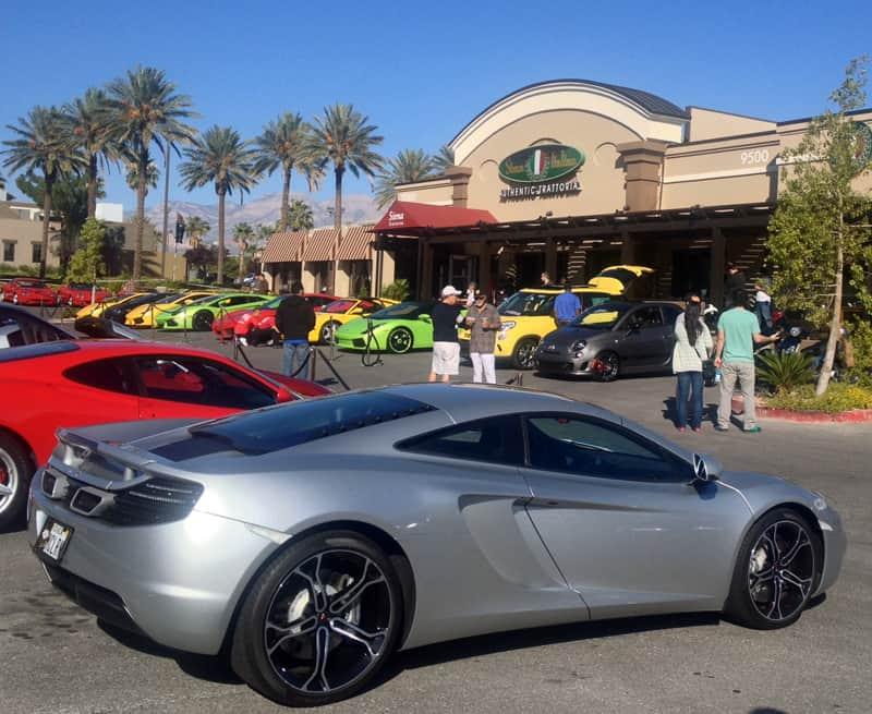 McLaren at Italian Sports Car Day 2013, Las Vegas, NV