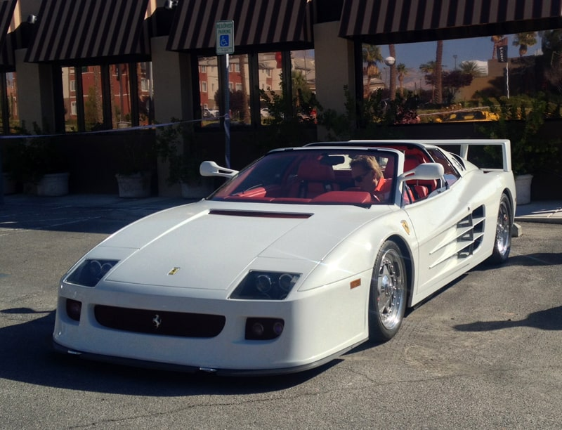 Ferrari Testarossa at Italian Sports Car Day 2013. Las Vegas, NV
