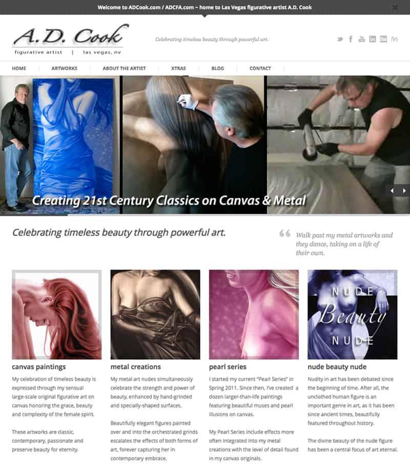 ADCook.com screen shot 10/20/2013