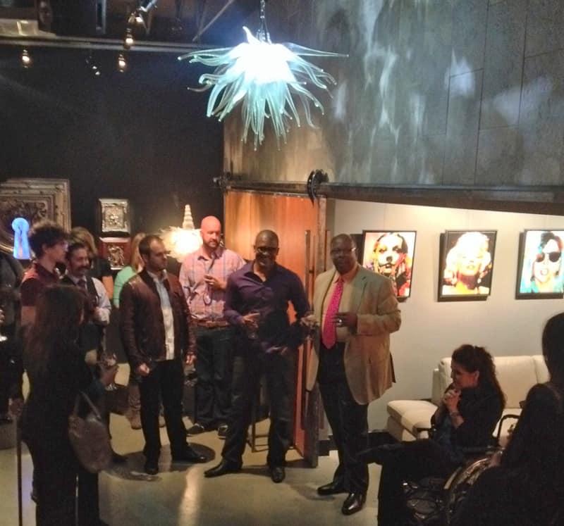 Throton speaks to designMINDS at ArtisticLifestyles, Las Vegas, NV
