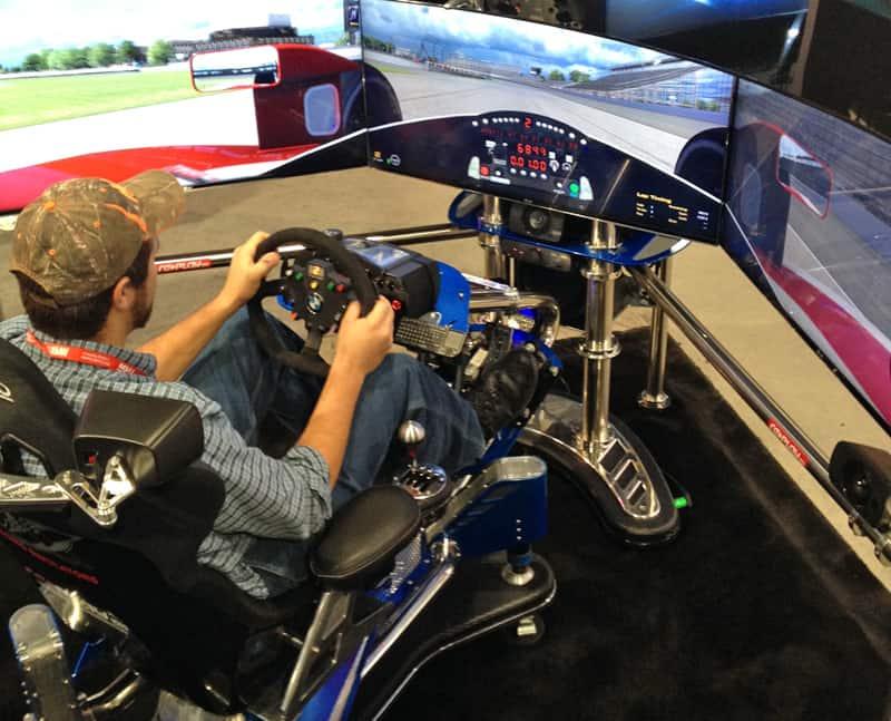 SEMA-2013-DrivingSimulator