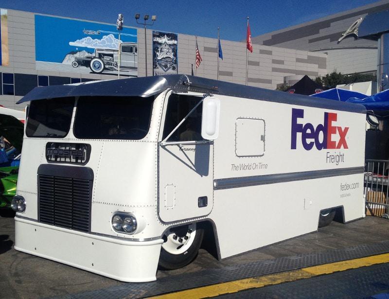 SEMA-2013-FedEx-Truck