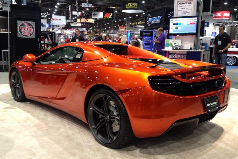 SEMA-2013-McLaren