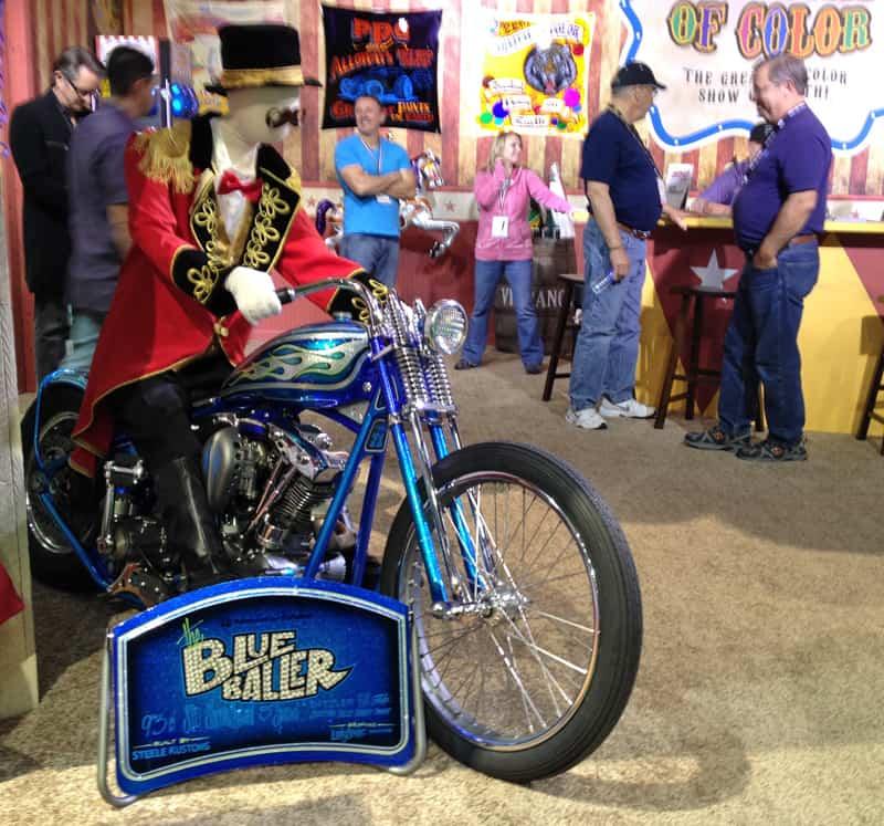 SEMA-2013-PPG-Booth-BlueBaller