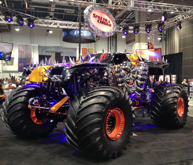 SEMA-2013-SpectraChromeMonsterTruck