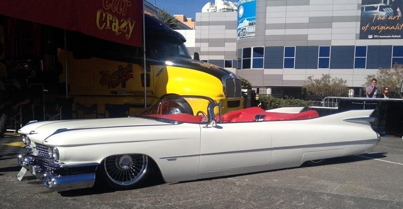 SEMA-2013-White-Cadillac