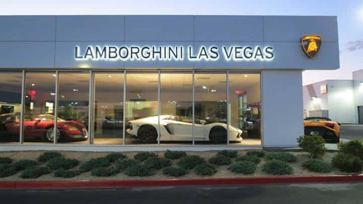 LamborghiniLasVegasShowroom