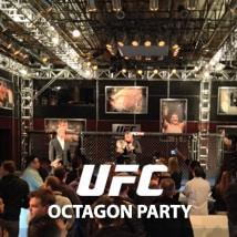 UFC Octagon Party 2014, Las Vegas, NV