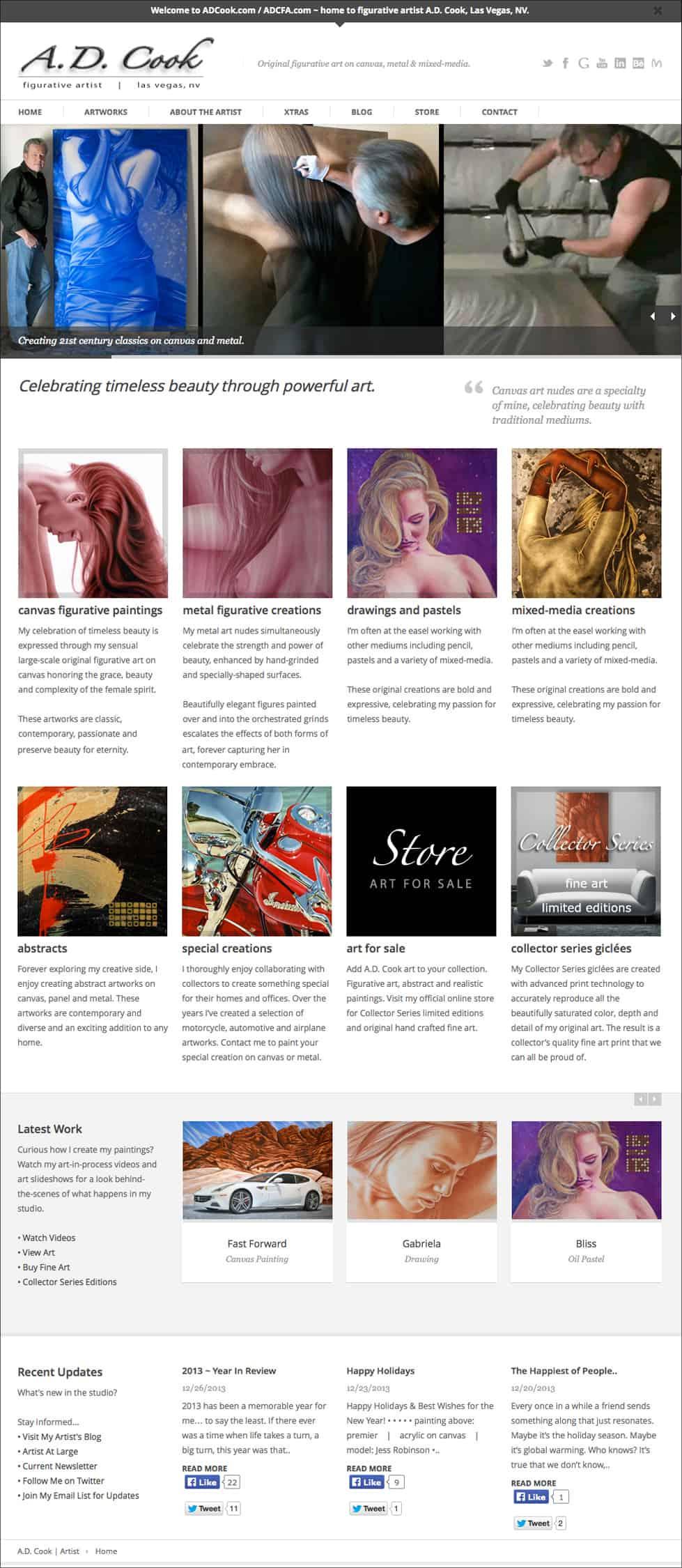ADCook.com Screenshot - January 2014