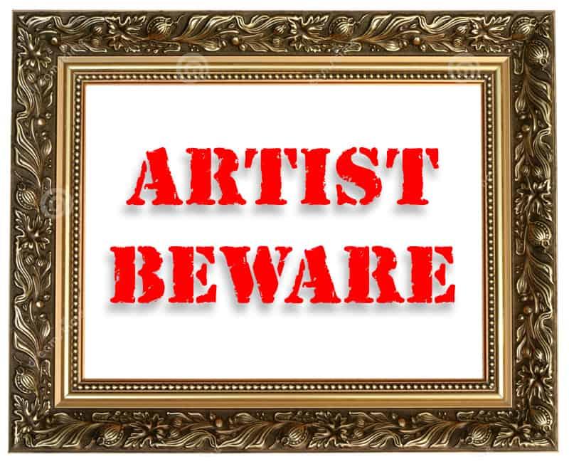 Artist Beware