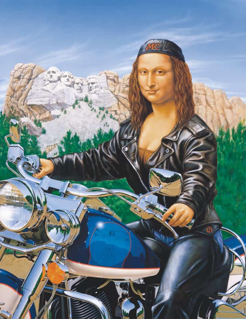 Motor Mona by Raphael Schnepf, Artist, Portland, Oregon