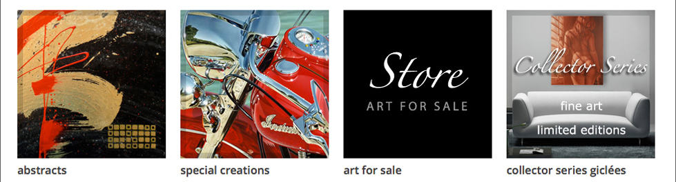 ADCook.com navigaion graphics - special creations and giclees