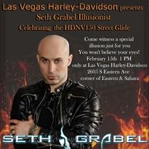 Seth Grabel at Las Vegas Harley-Davidson, Las Vegas, NV