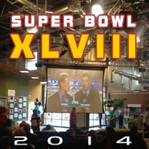 Super Bowl XLVIII 2014 at R&R Partners