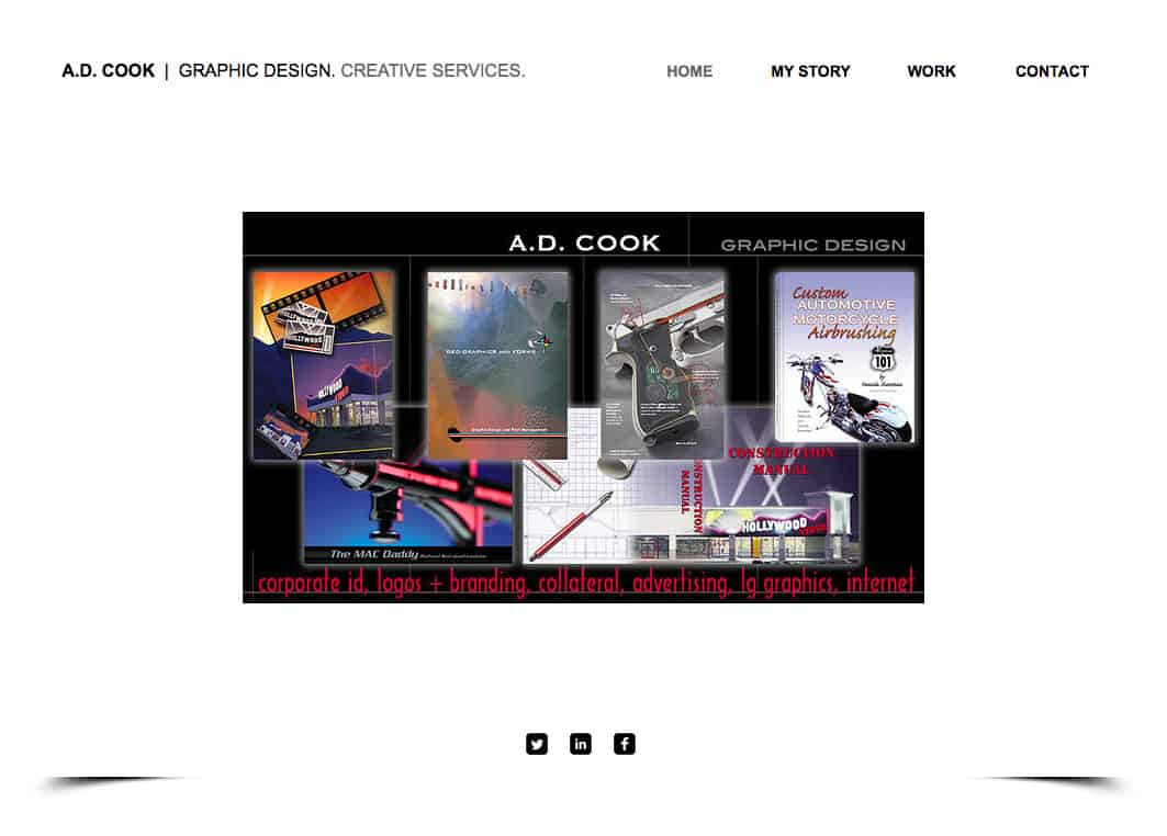 A.D. Cook Design Services at ADCookDesign.com