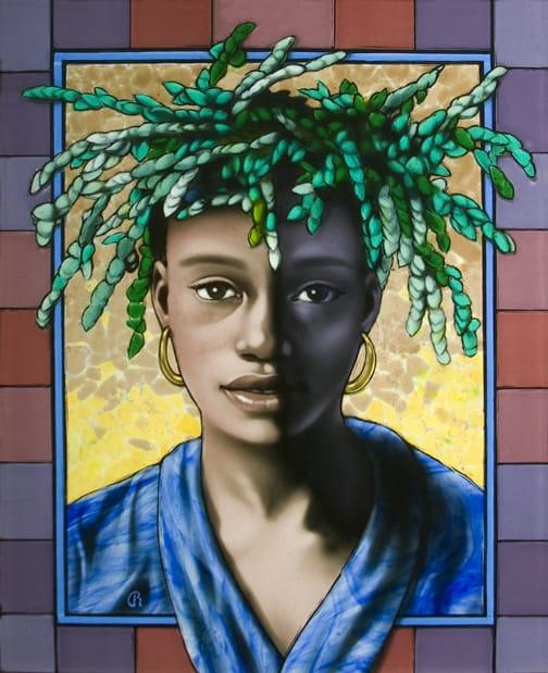 Jamaica, glass art by Raphael Schnepf