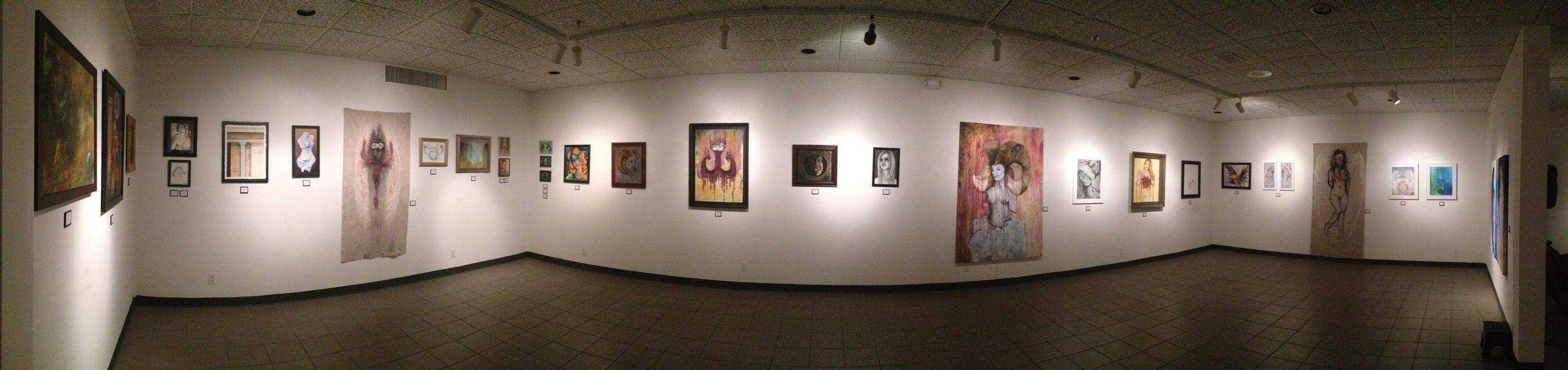 Jennifer McCarty Art Show, Las Vegas, NV 01/01/14