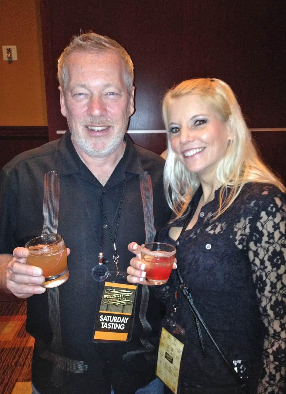 WhiskeyFest2014 - ADCook and Rhonda, Las Vegas, NV