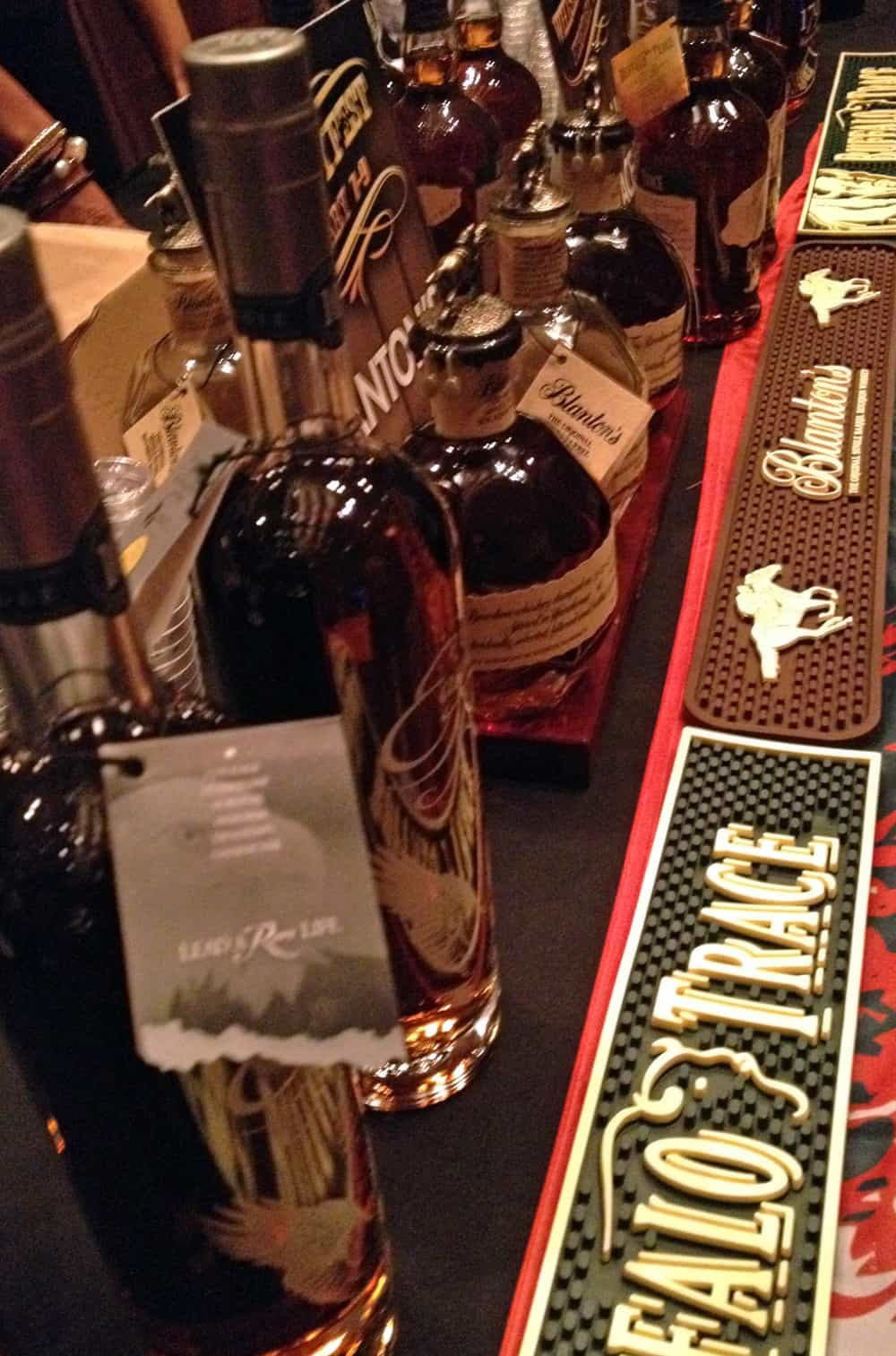 WhiskeyFest2014 - choices, choices, Las Vegas, NV