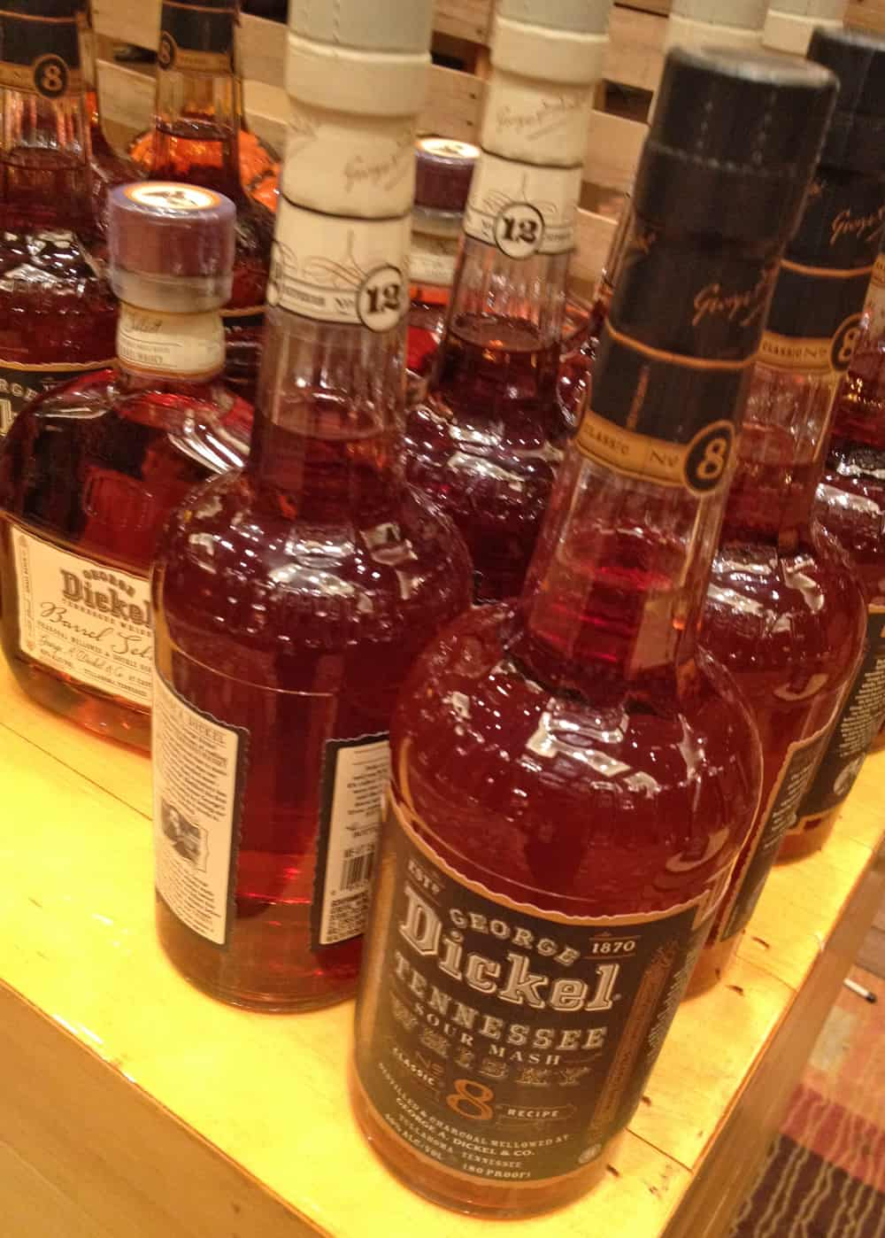 WhiskeyFest 2014 - George Dickel-Whiskey