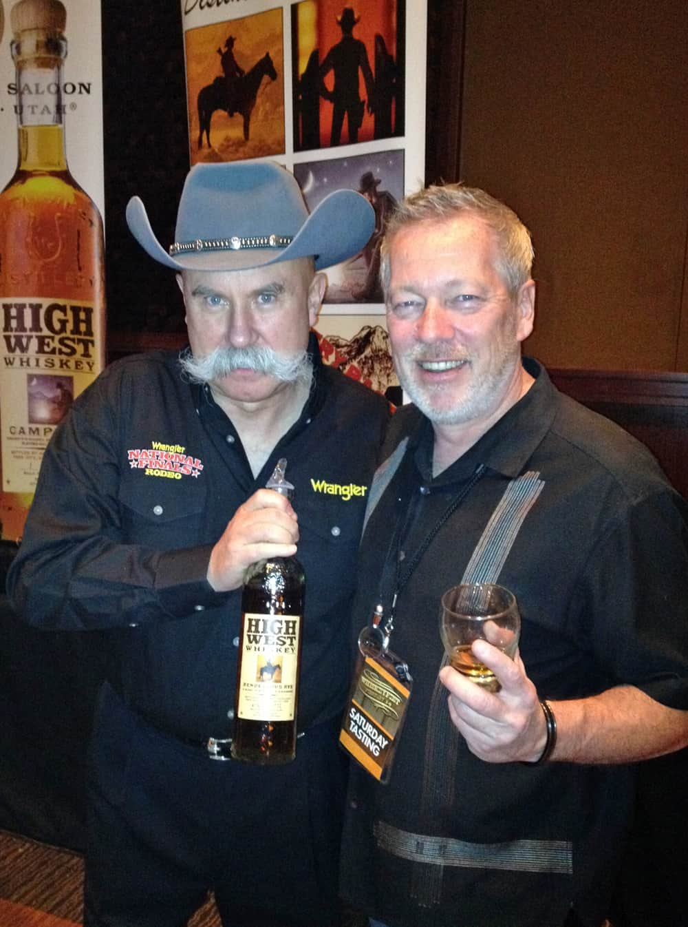 WhiskeyFest 2014 - High West Dude, Las Vegas, NV