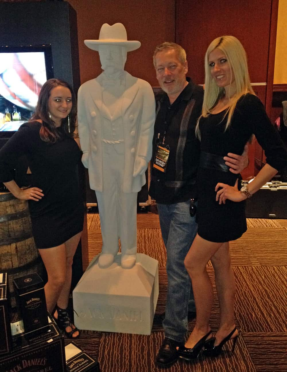 WhiskeyFest 2014 - Jack Daniels Ladies, Las Vegas, NV.