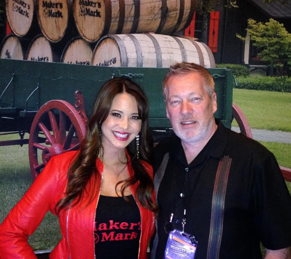 WhiskeyFest 2014 - Makers Mark Babe, Las Vegas, NV