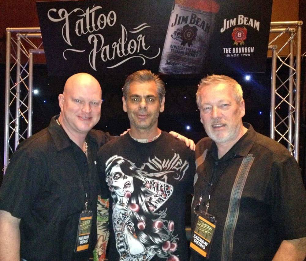 WhiskeyFest 2014 Jim Beam Temporary Tattoos